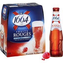 Bière blanche jus de sureau & framboise aromatisée f...