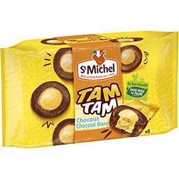 Gâteaux Tam Tam chocolat chocolat-blanc