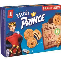 Prince - Mini biscuits goût chocolat au blé complet