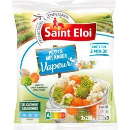 Petits mélanges Vapeur carottes choux romanesco chou...