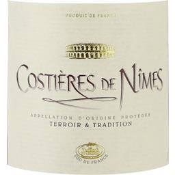 Costières de nîmes, vin rouge