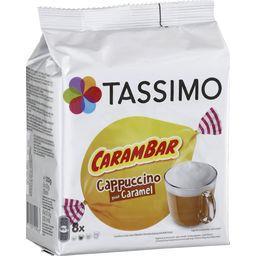 Dosettes de Cappuccino goût caramel