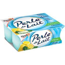 Yaourt Perle de lait au citron