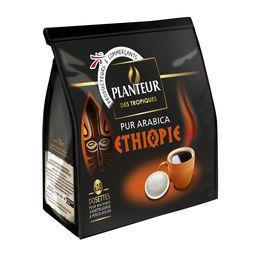 Dosettes de café Ethiopie pur arabica