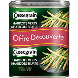 Cassegrain Haricots verts & haricots beurre