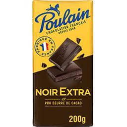 Poulain Chocolat noir extra