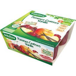 Dessert pommes cerises vanille, dès 8 mois