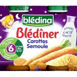 Blédîner - Carottes semoule, dès 6 mois