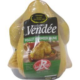 Poulet fermier Volaille de Vendée jaune PAC Label Rouge