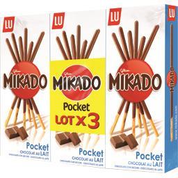 Mikado - Biscuit Pocket chocolat au lait