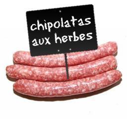 Chipolatas aux herbes ,FABRICATION MAISON