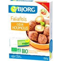 Falafels cœur houmous BIO