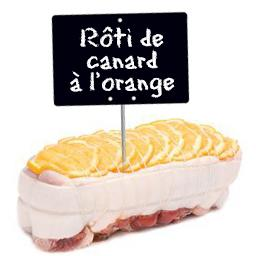 Roti de canard a l orange