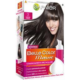 Belle Color Mousse - Couleur permanente châtain foncé 3