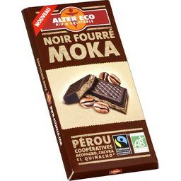 Chocolat noir fourré moka BIO