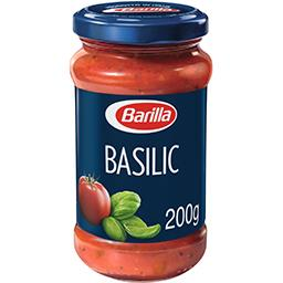 Sauce Basilico avec tomates cerise