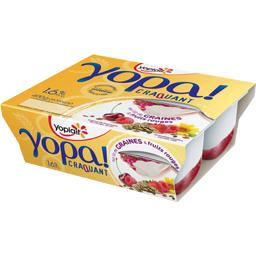 Yopa! - Yaourt sur lit de graines & fruits rouges