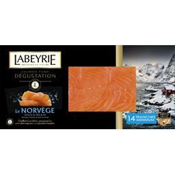 Labeyrie saumon Norvège fumé au bois de hêtre x14 -500g