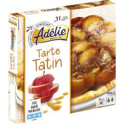 Tarte tatin, pâte sablée pur beurre