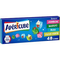 Apéricube Les Petits Cubes fromagers Cocktail, 4 saveurs
