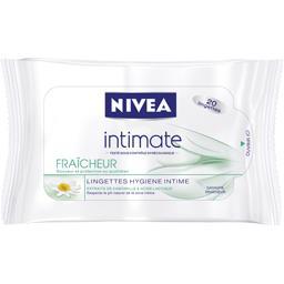 Intimate - Lingettes hygiène intime Fraîcheur