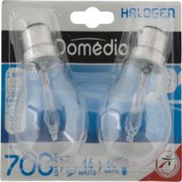 Domédia Ampoule STD halo 46W B22 l'ampoule