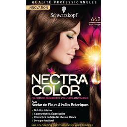 Nectra Color - Coloration brun nougat n°662