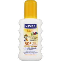 Sun Kids - Spray protecteur Pure & Sensitive 50+