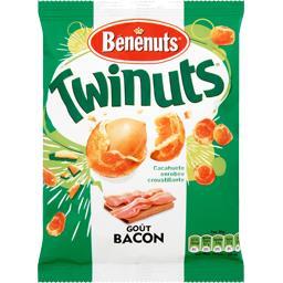 Twinuts double couche de biscuit goût bacon
