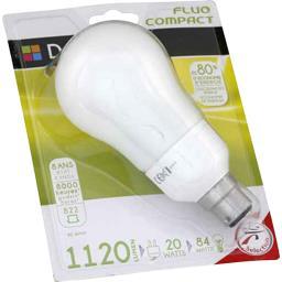 Domédia Ampoule STD fluo 20W B22 l'ampoule