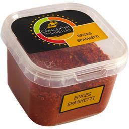 La conquête des saveurs Epices spaghetti la boite de 85 g
