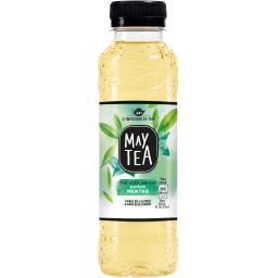 May Tea Boisson thé vert parfum menthe la bouteille de 33 cl