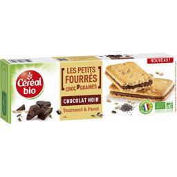 Les Petits Fourrés Croc' graines chocolat noir BIO