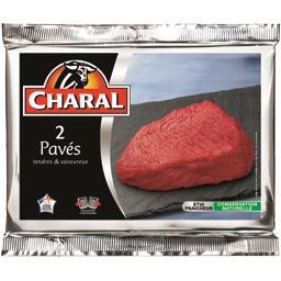 2 pavés***, viande bovine Française