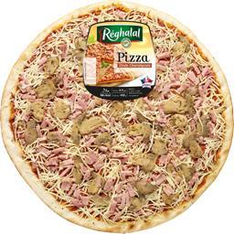 Pizza dinde champignons halal