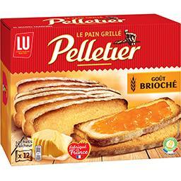 Pelletier - Pain grillé goût brioché