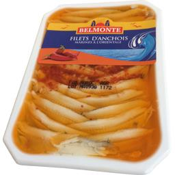 Bel Monte Filets d'anchois marinés à l'orientale la boite de 150 g