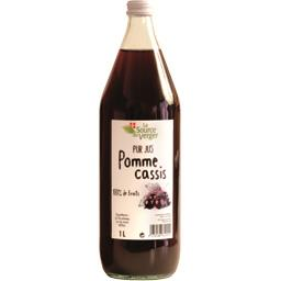 Pur jus pomme cassis