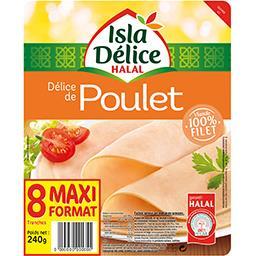 Délice de poulet halal
