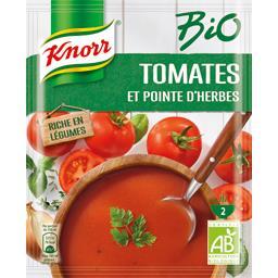 BIO - Soupe tomates et pointe d'herbes BIO