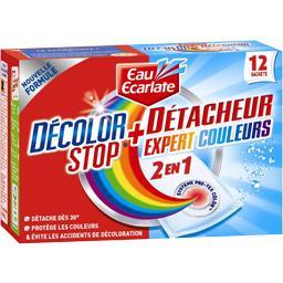 Décolor Stop - Sachet anti-décoloration + détacheur