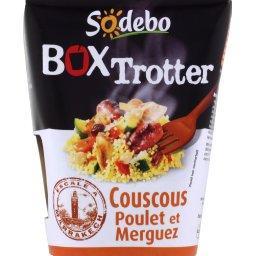 Box Trotter - Coucous poulet et merguez