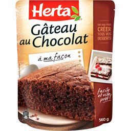 Gâteau au chocolat à ma façon