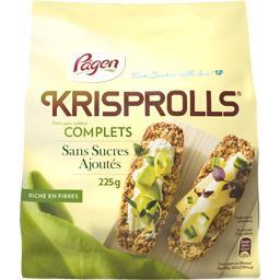 Petits pains suédois complets sans sucres ajoutés