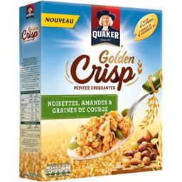 Quaker Golden Crisp - Pépites croquantes noisette graine de... la boite de 500 g