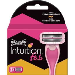 Intuition - Recharge rasoir pour femme fab