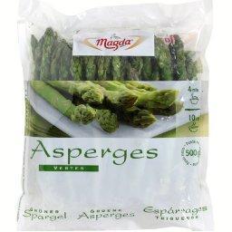 Asperges vertes ,MAGDA,le paquet de 500 g