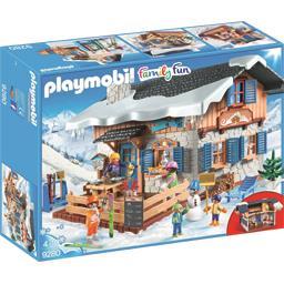 Playmobil® Family Fun - Chalet avec skieurs le chalet