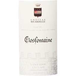 Languedoc-La Clape Château Ricardelle vin Rouge 2016