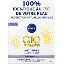 Nivea Soin de jour Q10 Power anti-rides + peaux sensibles
